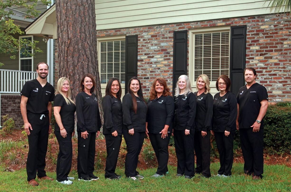Team,summerville dentist, pineland family dental, pineland dental, dentist office, family dentist, general dentist, cosmetic dentist